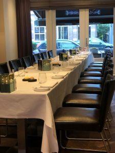 Groepen dineren zakelijk arrangement Utrecht de Bilt
